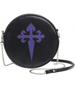 Gothic Cross Round Shoulder Bag Cosplay Costume Closet Halloween Shop Halloween Cosplay Costumes | Kids, Adult & Plus Size Halloween Costumes