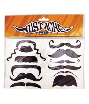Mustache Temporary Tattoos Cosplay Costume Closet Halloween Shop Halloween Cosplay Costumes | Kids, Adult & Plus Size Halloween Costumes