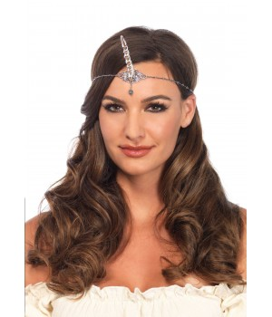 Unicorn Horn Silver Head Piece Cosplay Costume Closet Halloween Shop Halloween Cosplay Costumes   Kids, Adult & Plus Size Halloween Costumes