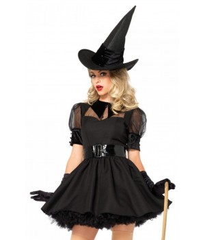 Bewitching Witch Vintage Inspired Halloween Costume Cosplay Costume Closet Halloween Shop Halloween Cosplay Costumes | Kids, Adult & Plus Size Halloween Costumes
