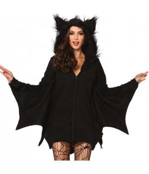 Cozy Bat Fleece Womens Halloween Costume Cosplay Costume Closet Halloween Shop Halloween Cosplay Costumes | Kids, Adult & Plus Size Halloween Costumes