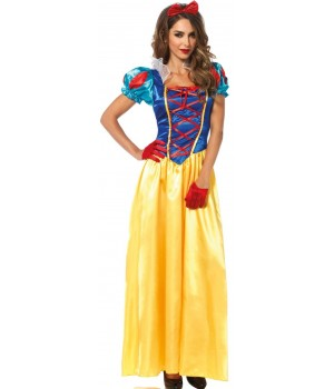 Classic Snow White Costume Gown Cosplay Costume Closet Halloween Shop Halloween Cosplay Costumes | Kids, Adult & Plus Size Halloween Costumes