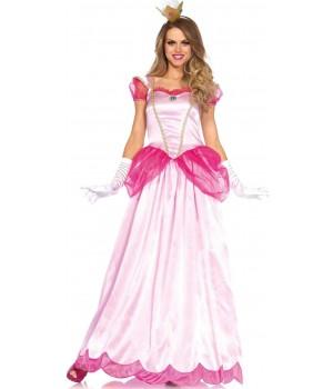 Classic Pink Princess Womens Halloween Costume Cosplay Costume Closet Halloween Shop Halloween Cosplay Costumes | Kids, Adult & Plus Size Halloween Costumes
