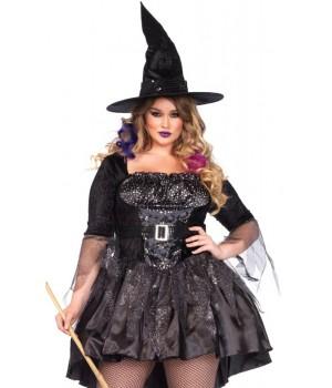 Black Magic Witch Plus Size Halloween Costume Cosplay Costume Closet Halloween Shop Halloween Cosplay Costumes | Kids, Adult & Plus Size Halloween Costumes
