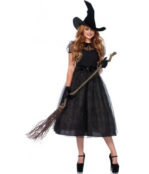 Darling Spellcaster Vintage Style Womens Halloween Costume Cosplay Costume Closet Halloween Shop Halloween Cosplay Costumes | Kids, Adult & Plus Size Halloween Costumes