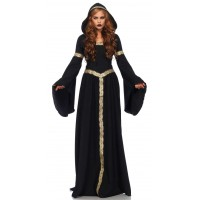 Celtic Lady Hooded Womens Halloween Costume