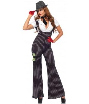 Brass Knuckle Babe Womens Halloween Costume Cosplay Costume Closet Halloween Shop Halloween Cosplay Costumes | Kids, Adult & Plus Size Halloween Costumes