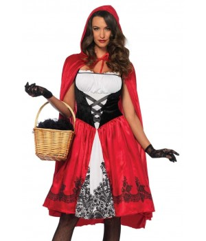Classic Red Riding Hood Womens Costume Cosplay Costume Closet Halloween Shop Halloween Cosplay Costumes | Kids, Adult & Plus Size Halloween Costumes