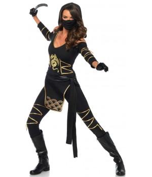 Dragon Ninja Womens Halloween Costume Cosplay Costume Closet Halloween Shop Halloween Cosplay Costumes | Kids, Adult & Plus Size Halloween Costumes