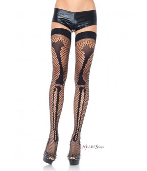 Net Leg Bone Thigh Highs Cosplay Costume Closet Halloween Shop Halloween Cosplay Costumes | Kids, Adult & Plus Size Halloween Costumes