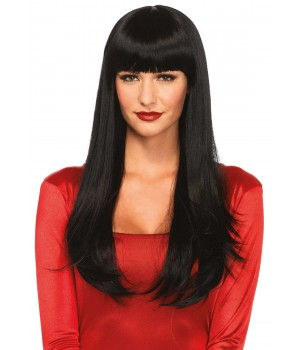 Banging Long Straight Wig Cosplay Costume Closet Halloween Shop Halloween Cosplay Costumes | Kids, Adult & Plus Size Halloween Costumes