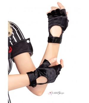 Fingerless Black Motorcycle Gloves Cosplay Costume Closet Halloween Shop Halloween Cosplay Costumes | Kids, Adult & Plus Size Halloween Costumes