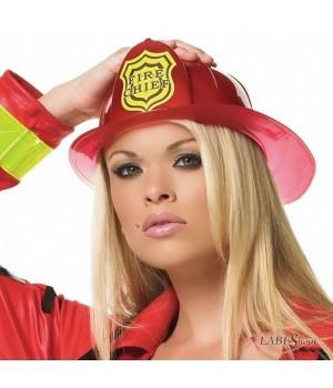 Firechief Costume Hat Cosplay Costume Closet Halloween Shop Halloween Cosplay Costumes | Kids, Adult & Plus Size Halloween Costumes