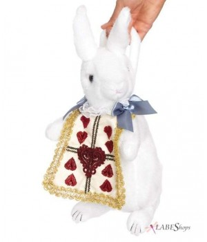 Wonderland Rabbit Plush Purse Cosplay Costume Closet Halloween Shop Halloween Cosplay Costumes | Kids, Adult & Plus Size Halloween Costumes