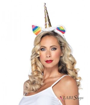 Rainbow Unicorn Headband Cosplay Costume Closet Halloween Shop Halloween Cosplay Costumes | Kids, Adult & Plus Size Halloween Costumes