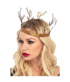 Golden Forest Crown Cosplay Costume Closet Halloween Shop Halloween Cosplay Costumes | Kids, Adult & Plus Size Halloween Costumes
