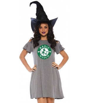 Basic Witch Halloween Party Dress Cosplay Costume Closet Halloween Shop Halloween Cosplay Costumes | Kids, Adult & Plus Size Halloween Costumes