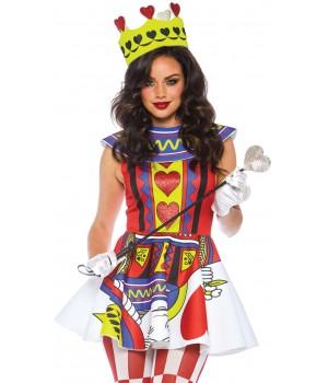 Card Queen 3 Piece Womens Halloween Costume Cosplay Costume Closet Halloween Shop Halloween Cosplay Costumes | Kids, Adult & Plus Size Halloween Costumes