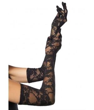 Elegant Black Lace Opera Gloves Cosplay Costume Closet Halloween Shop Halloween Cosplay Costumes | Kids, Adult & Plus Size Halloween Costumes