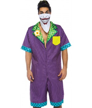 Gotham Super Villain Mens Comfortable Costume Cosplay Costume Closet Halloween Shop Halloween Cosplay Costumes | Kids, Adult & Plus Size Halloween Costumes