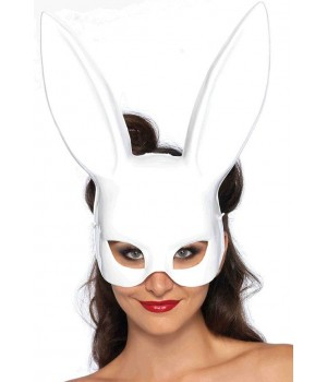 Bunny Masquerade Mask in White Cosplay Costume Closet Halloween Shop Halloween Cosplay Costumes | Kids, Adult & Plus Size Halloween Costumes