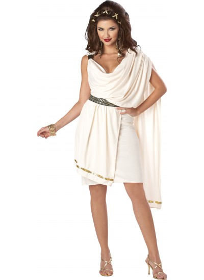 Toga Classic Deluxe Womens Costume at Cosplay Costume Closet Halloween Shop, Halloween Cosplay Costumes | Kids, Adult & Plus Size Halloween Costumes