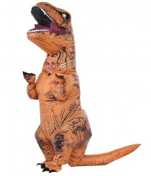 T-Rex Inflatable Kids Dinosaur Costume Cosplay Costume Closet Halloween Shop Halloween Cosplay Costumes   Kids, Adult & Plus Size Halloween Costumes