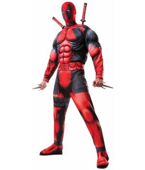 Deadpool Adult Muscle Costume Cosplay Costume Closet Halloween Shop Halloween Cosplay Costumes | Kids, Adult & Plus Size Halloween Costumes