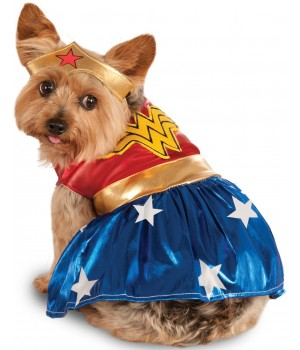 Wonder Woman Dog Costume Cosplay Costume Closet Halloween Shop Halloween Cosplay Costumes | Kids, Adult & Plus Size Halloween Costumes