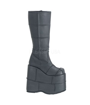 Mens Platform Patched Knee Boot Cosplay Costume Closet Halloween Shop Halloween Cosplay Costumes   Kids, Adult & Plus Size Halloween Costumes