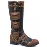 Silas Multi Pocket Steampunk Womens Boot