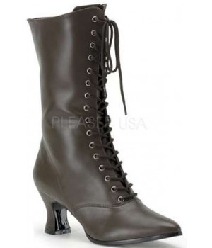 Brown Victorian Ankle Boot Cosplay Costume Closet Halloween Shop Halloween Cosplay Costumes | Kids, Adult & Plus Size Halloween Costumes