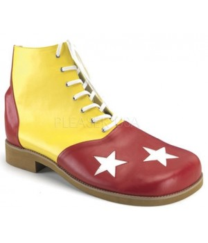 Red and Yellow Adult Clown Shoes Cosplay Costume Closet Halloween Shop Halloween Cosplay Costumes   Kids, Adult & Plus Size Halloween Costumes