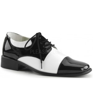 Disco Black and White Costume Shoes Cosplay Costume Closet Halloween Shop Halloween Cosplay Costumes   Kids, Adult & Plus Size Halloween Costumes