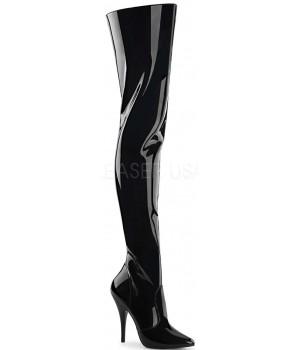 Pretty Woman Seduce Black Thigh High Boots Cosplay Costume Closet Halloween Shop Halloween Cosplay Costumes   Kids, Adult & Plus Size Halloween Costumes