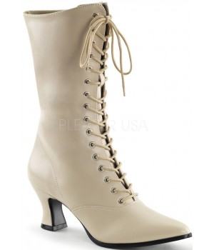 Cream Victorian Ankle Boot Cosplay Costume Closet Halloween Shop Halloween Cosplay Costumes | Kids, Adult & Plus Size Halloween Costumes