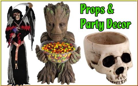 buy props and decor for your halloween party or haunted house