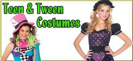 shop junior size halloween costumes for teen and tween girls and boys
