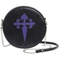 Gothic Cross Round Shoulder Bag