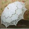 White Battenburg Lace Parasol at Cosplay Costume Closet Halloween Shop, Halloween Cosplay Costumes | Kids, Adult & Plus Size Halloween Costumes