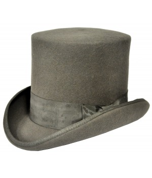 Tall Hat Grey Large