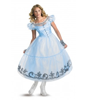 Alice Movie Costume Dlx 4-6
