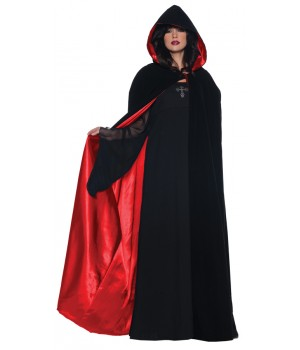Cape Dlx Blk/red 63 Inch