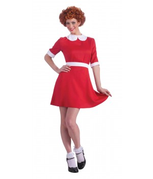 Annie Costume Adult Std