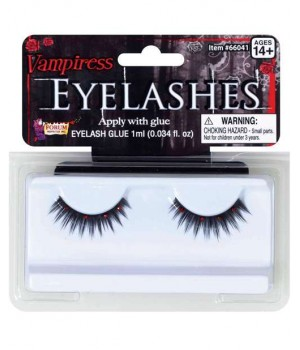 Vampiress Eyelashes Cosplay Costume Closet Halloween Shop Halloween Cosplay Costumes | Kids, Adult & Plus Size Halloween Costumes