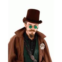 Coachman Dark Brown Suede Top Hat