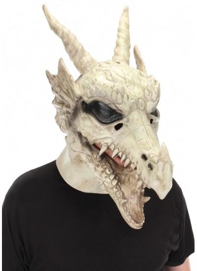 Dragon Skull Mouth Mover Mask at Cosplay Costume Closet Halloween Costume Shop, Halloween Cosplay Costumes | Kids, Adult & Plus Size Halloween Costumes