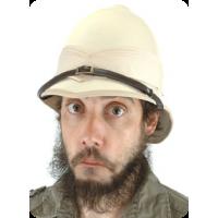 British Pith Helmet Steampunk Hat