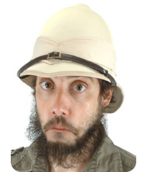 British Pith Helmet Steampunk Hat