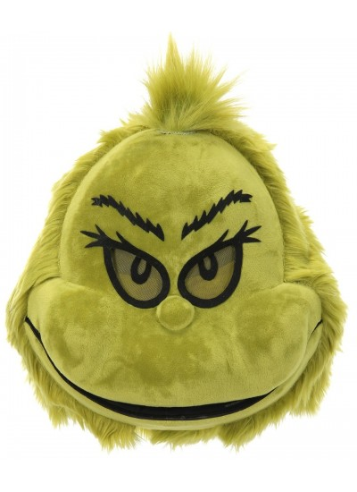 Dr Seuss The Grinch Plush Mouth Mover Mask at Cosplay Costume Closet Halloween Costume Shop, Halloween Cosplay Costumes | Kids, Adult & Plus Size Halloween Costumes